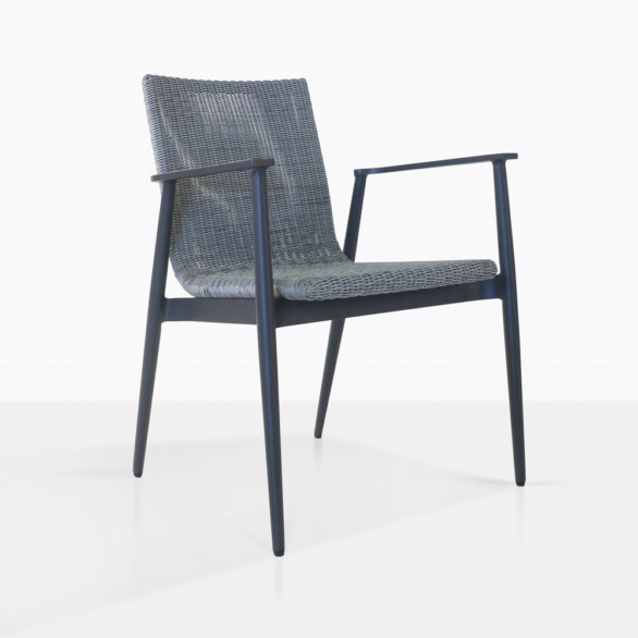 Baltic Modern Wicker Dining Chair