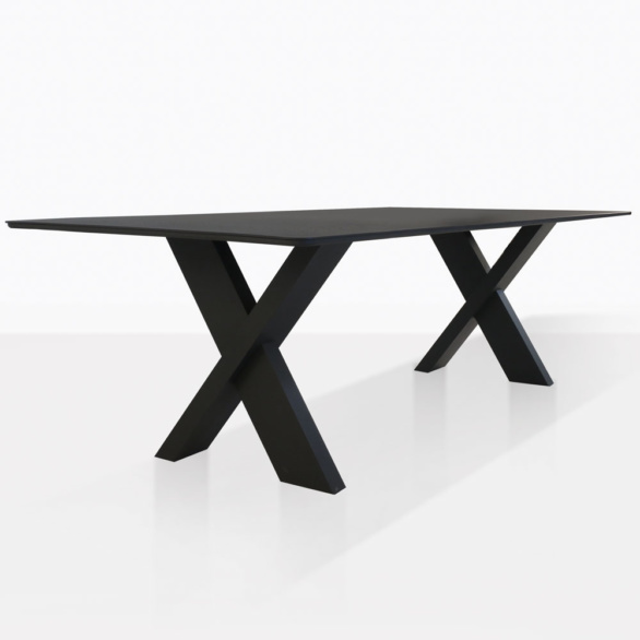 Illusion Dining Table With Cross Legs