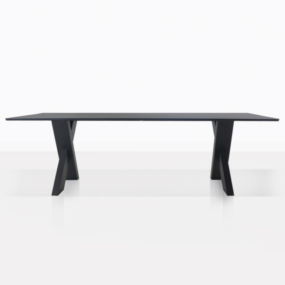 Illusion Aluminum Rectangle Dining Table