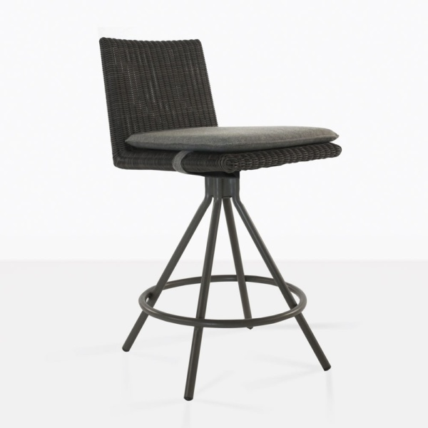 Loop Swivel Counter Height Stool