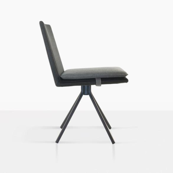 Loop Swivel Dining Chair Side
