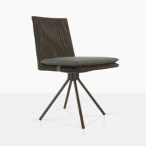 Loop Swivel Dining Chair Angle