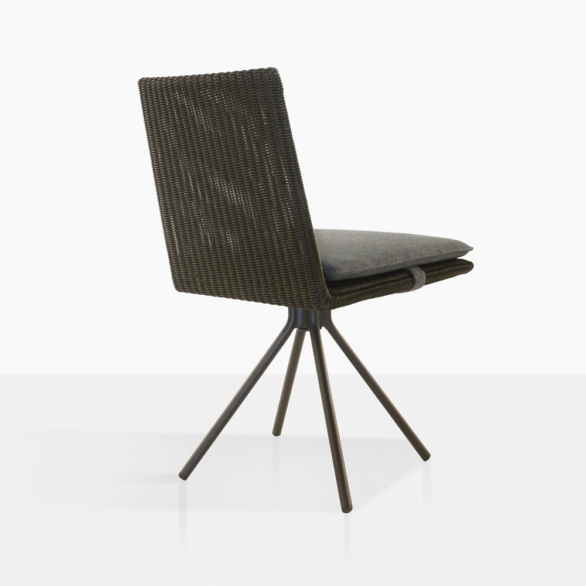 Loop Outdoor Swivel Dining Chair