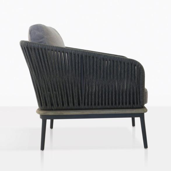 Oasis Rope And Teak Club Chair