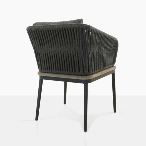 Oasis Rope Dining Chair Back View