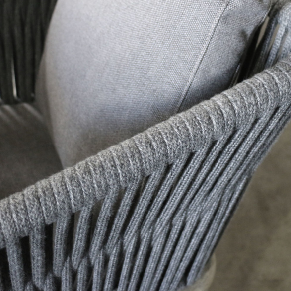 Oasis Rope Dining Chair Closeup