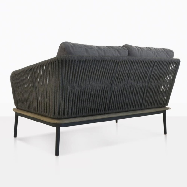 Oasis Left Arm Loveseat Back