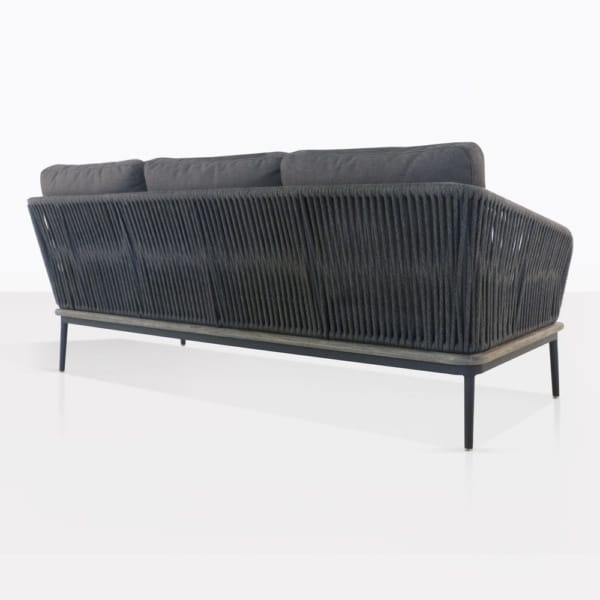 Oasis Right Arm Sectional Sofa Back