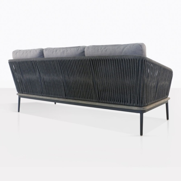 Oasis Rope Sectional Sofa Back View