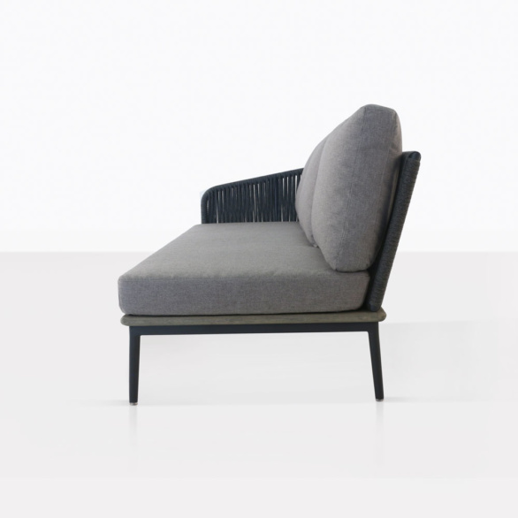 Oasis Right Amr Sectional Sofa Side View