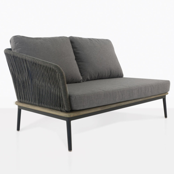 Oasis Right Arm Loveseat With Cushions