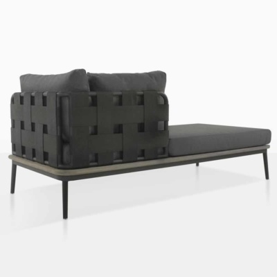 space coal right chaise deep seating