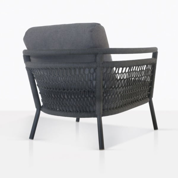 Usso Lounge Chair With Woven Rope