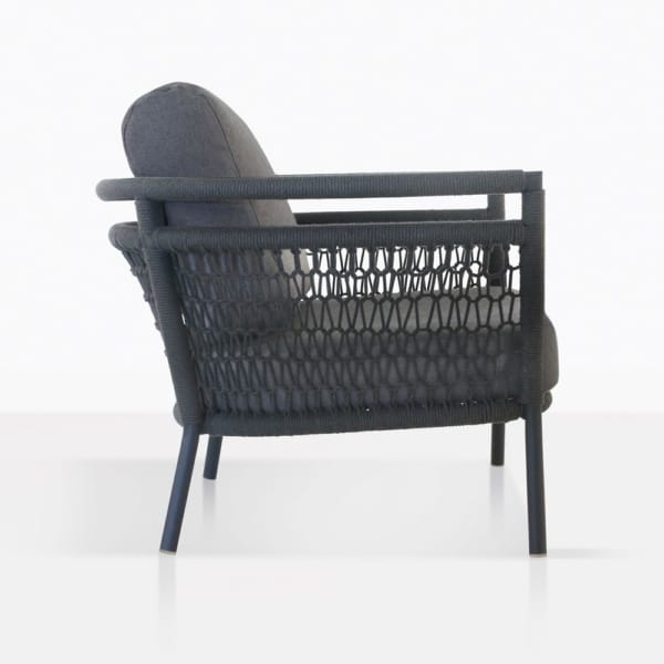 Usso Outdoor Chair With Woven Rope