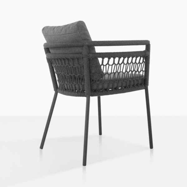Usso Woven Rope Dining Chair Back