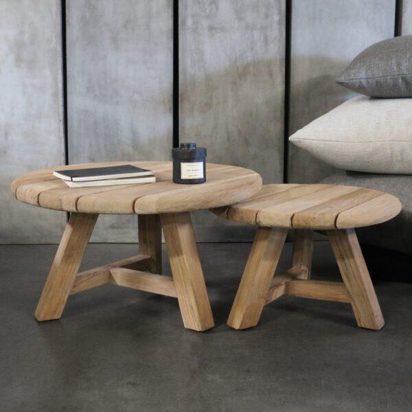 oslo teak accent tables