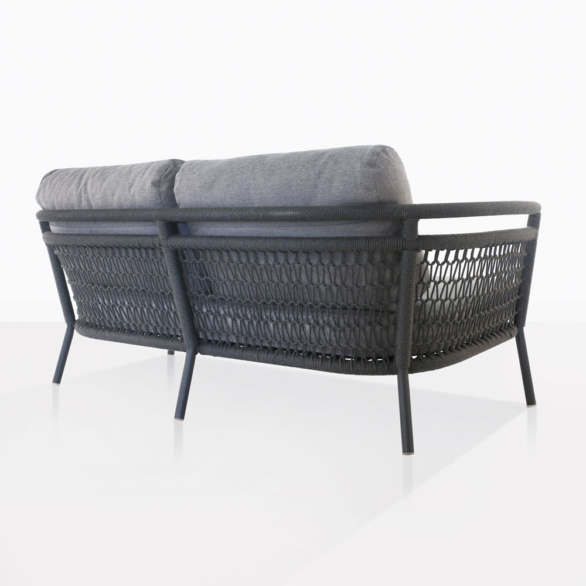 Usso Rope Outdoor Sofa Back View