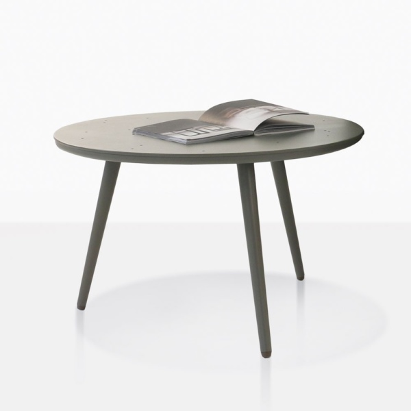 Ida Round Coffee Table With Book