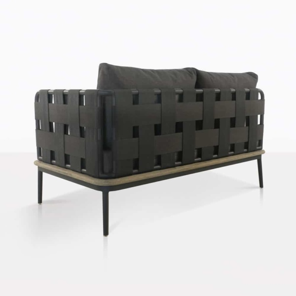 back - Space loveseat left arm