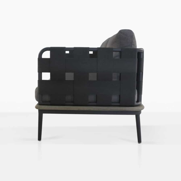 side - Space loveseat left arm
