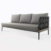 left arm space sofa - angled