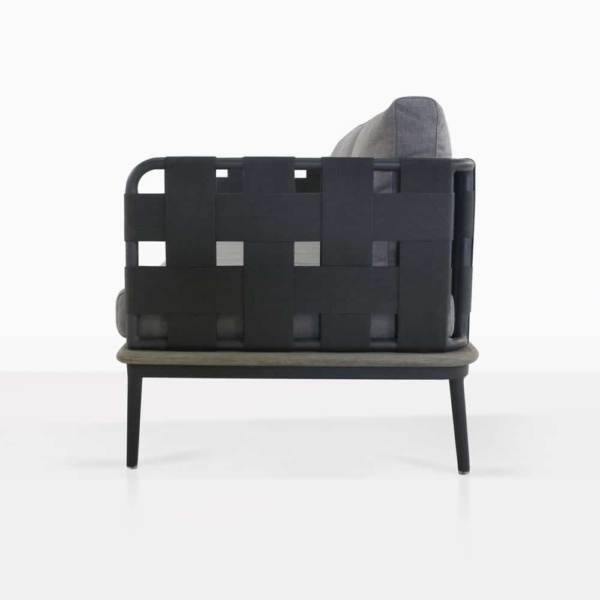 left arm space sofa - side