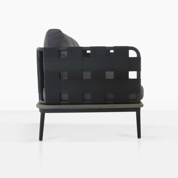 side - space loveseat - right arm