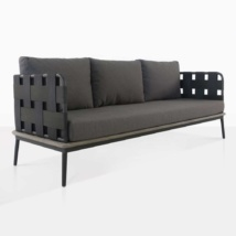 Space outdoor sofa - front angle