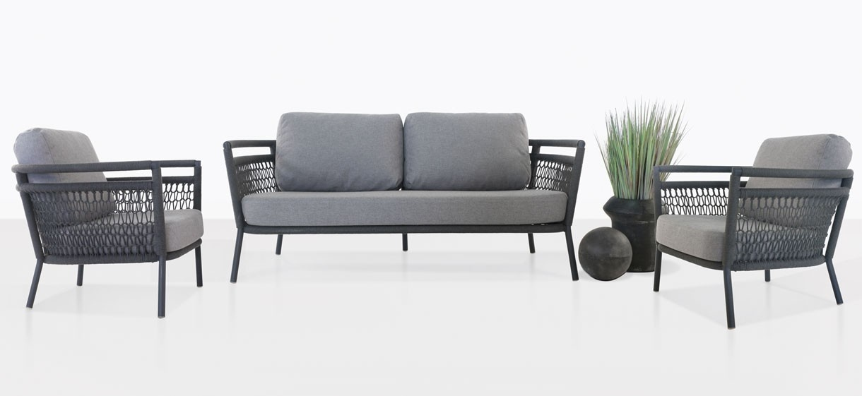 Usso Outdoor Furniture Collection In Light Grey