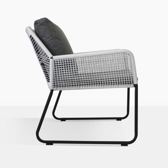 Puppy Modern Wicker Chair Side View