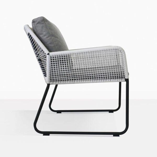 Puppy Modern Wicker Chair Side