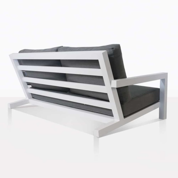 Granada White Outdoor Lovseat