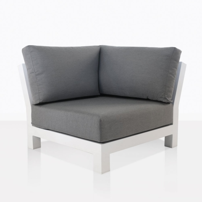 South Bay Sectional Corner Chair In White