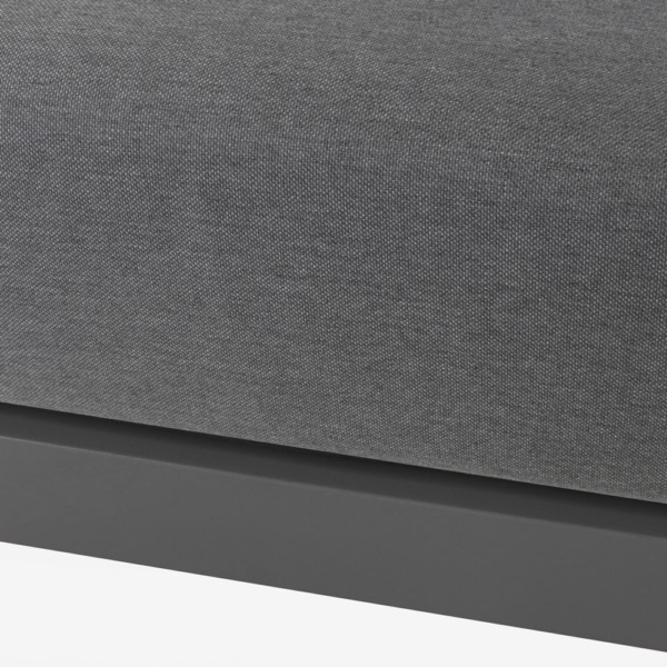 South Bay Ottoman In Charcoal