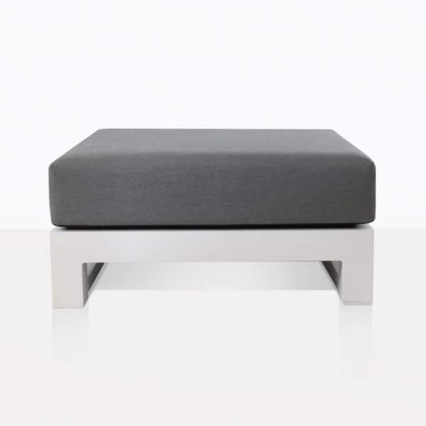 South Bay Ottoman In White