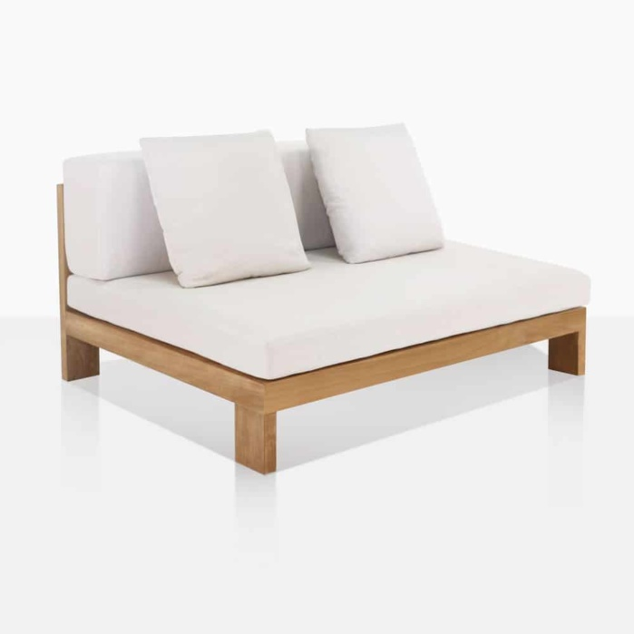Outdoor Sectional Armless Chair