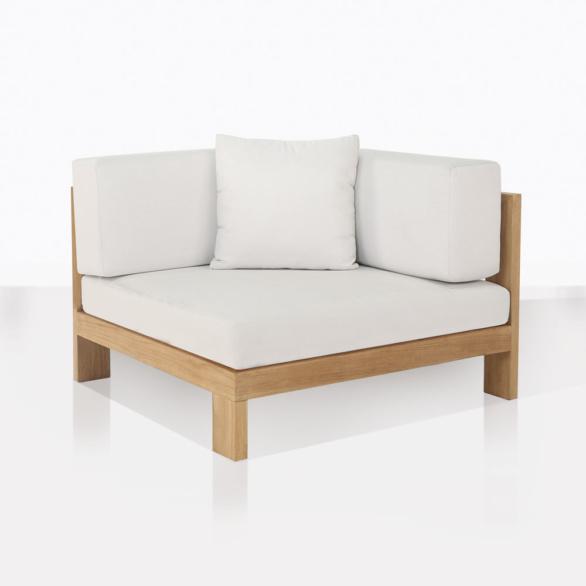 Coast Teak Sectional Corner Chair