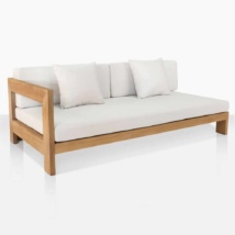 Coast Teak Right Sectional Sofa