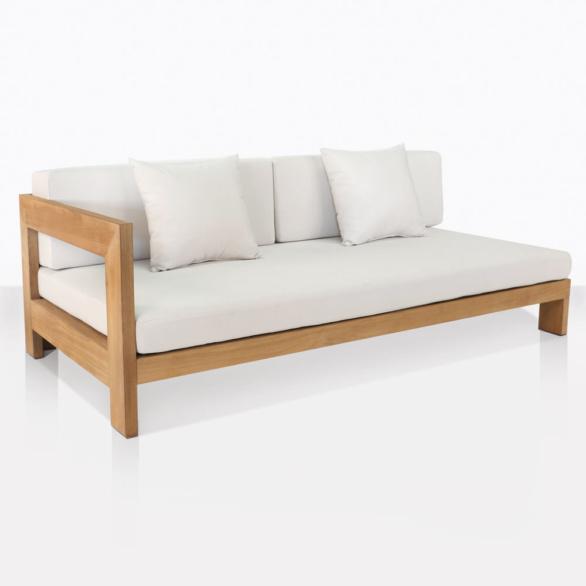 Coast Teak Right Sectional Sofa