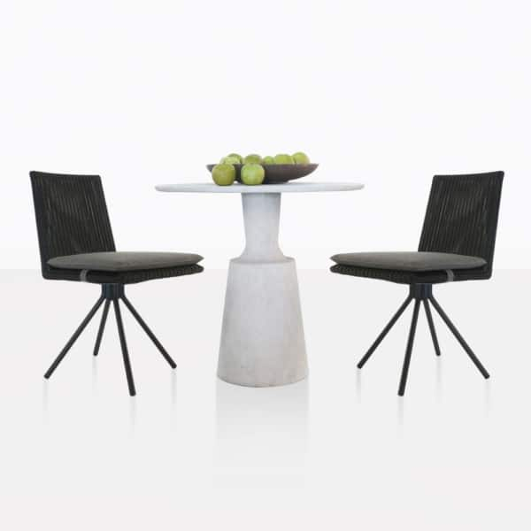 Nicki Table And Loop Dining Chairs