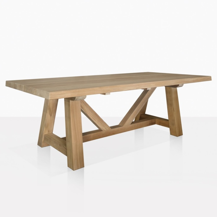 Devon A Grade Teak Trestle Dining Table