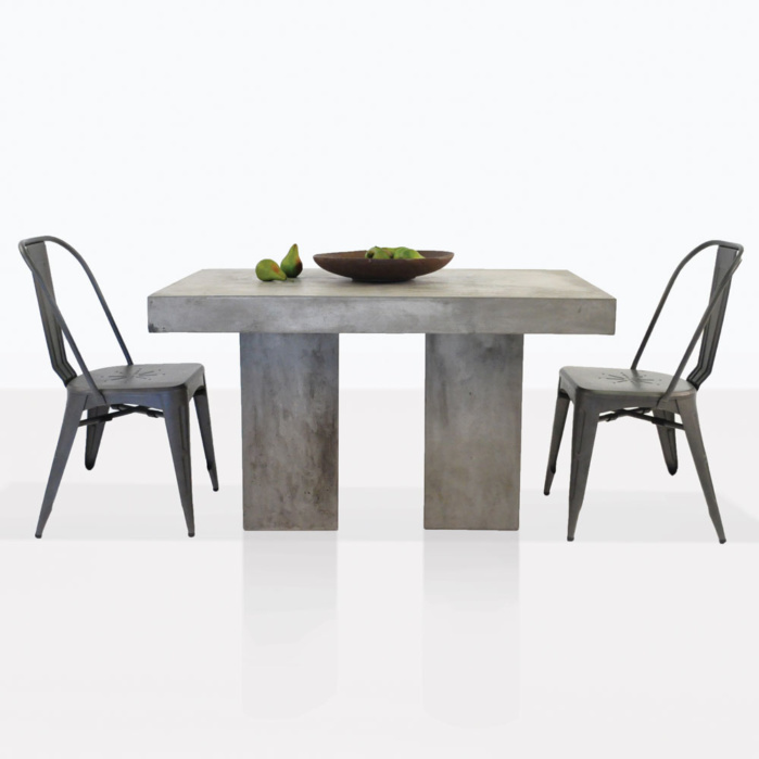 Concrete And Alix Dining Set For 2
