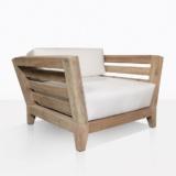 Teak Club Chair