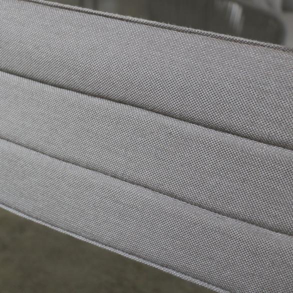 el fresco grey dinging chair folding close up