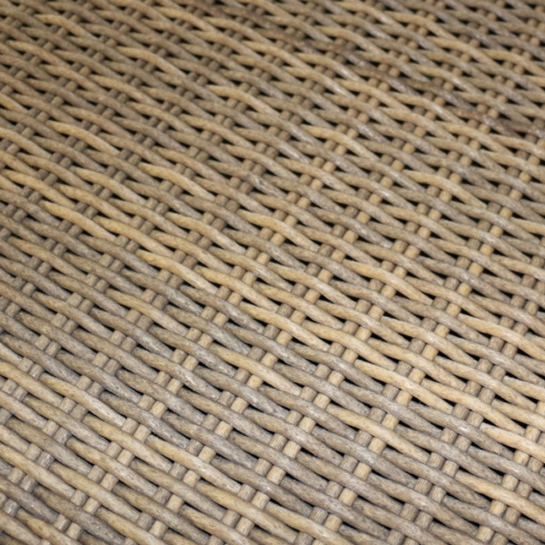 moni dining chair sand close up wicker