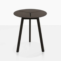 lona aluminum accent table straight