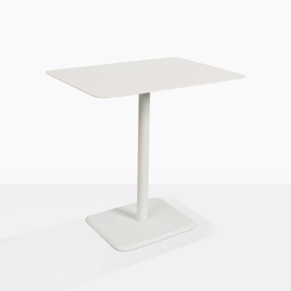 Lulu Curved Rectangle Outdoor Side Table