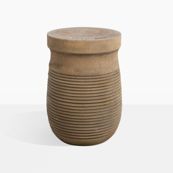 Tola Swampe Wood Outdoor Side Table