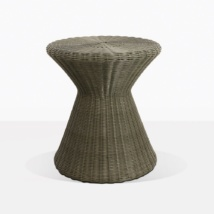 Jak Moss Small Wicker Side Table