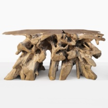 Max Large Teak Root Console Table